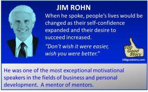 Focus Success Jim Rohn changed lives