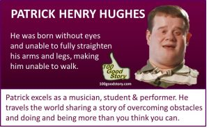 Focus Success without eyes but a musician & performer