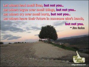 Inspirational quotes; Jim Rohn